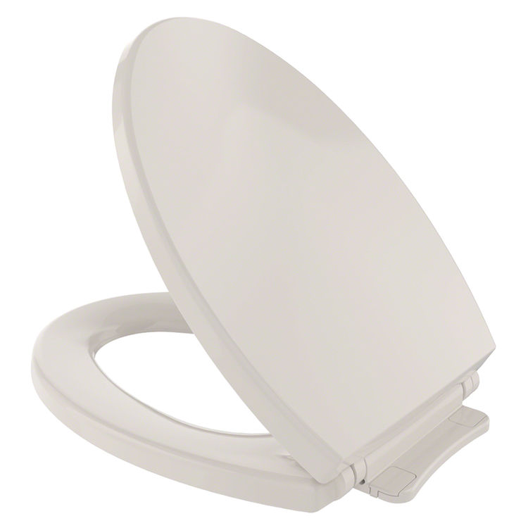 View 2 of Toto SS114#12 Toto SS114#12  SoftClose Elongated Toilet Seat with Cover - Sedona Beige