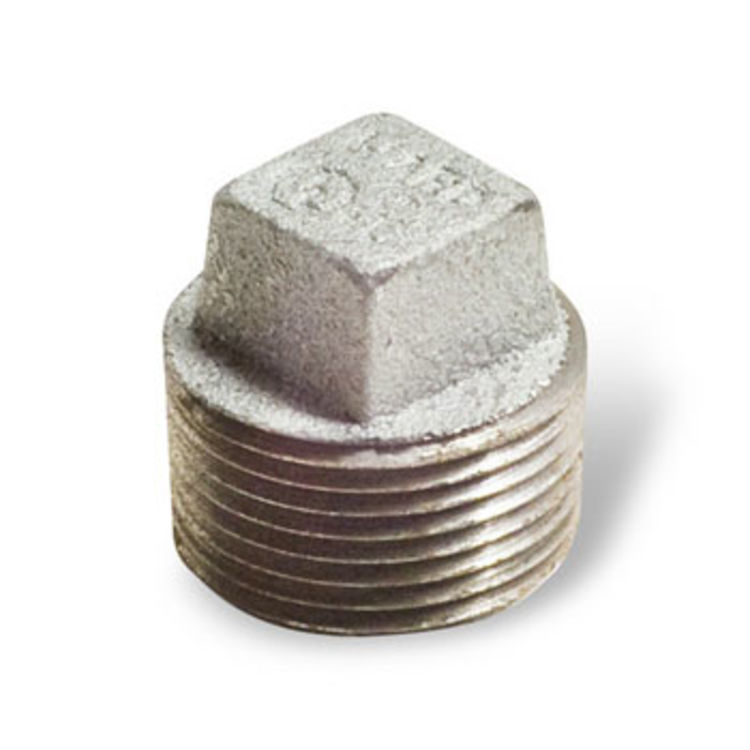 View 2 of Commodity  GALPL212 Galvanized Plug, 2-1/2 Inch