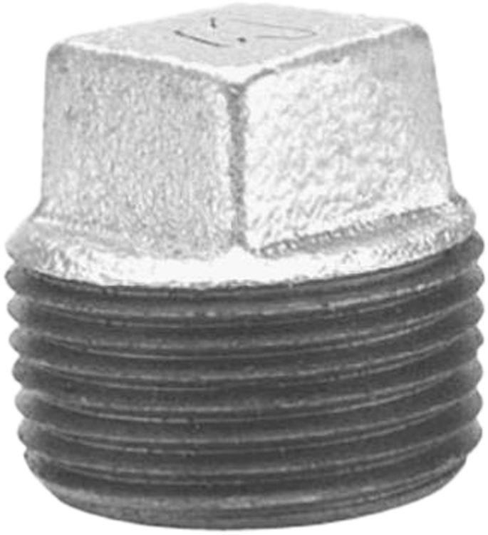 Commodity  GALPL4 Galvanized Plug, 4 Inch
