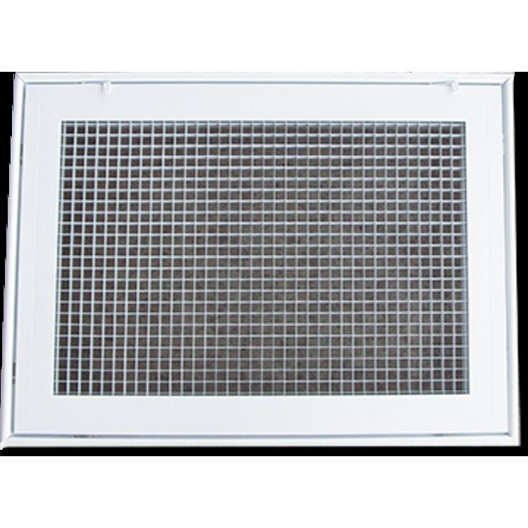 View 2 of Shoemaker 620FG1-25X12 Shoemaker 620FG1-25X12 Lattice Filter Grille - Soft White