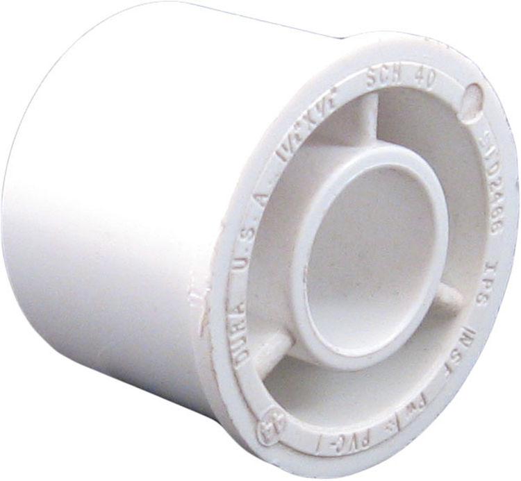 Commodity  PVCB11212 Schedule 40 PVC Bushing, 1-1/2 x 1/2 Inch