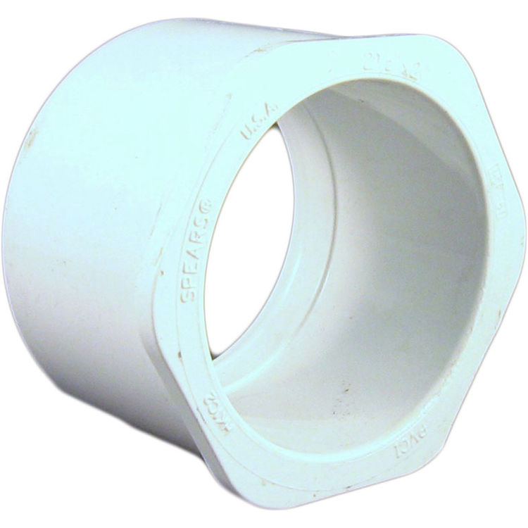Commodity  PVCB2122 Schedule 40 PVC Bushing, 2-1/2 x 2 Inch