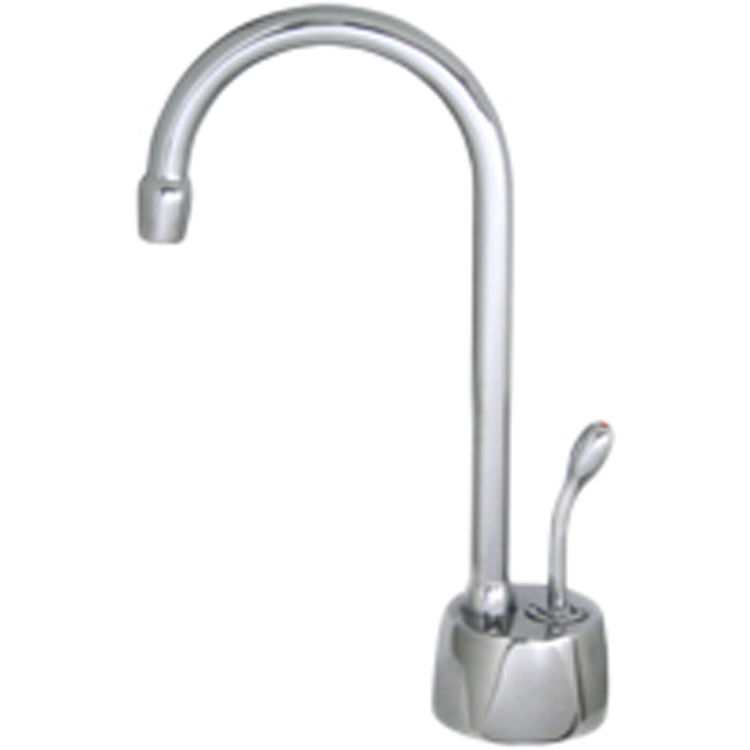 Waste King H711 U Sn Satin Nickel Hot Only Water Tank And Faucet Combo