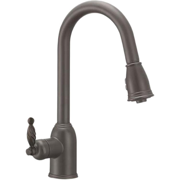Danze BOR-PDK-ATC DANZE BOR-PDK-ATC BORDEAUX 2 Position Pull Down Kitchen Faucet Antique Copper