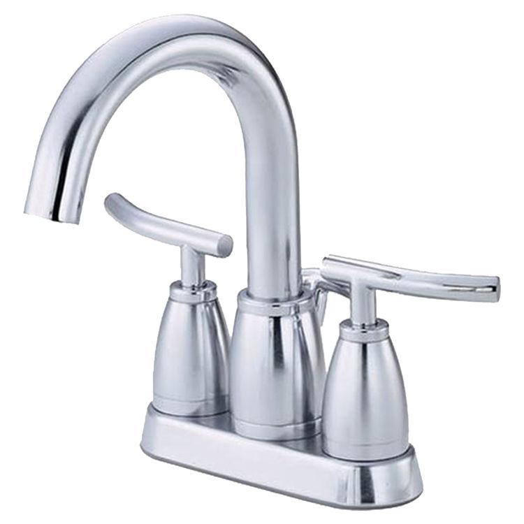 Danze D303254 Danze D303254 Sonora Chrome Two Lever Handle Centerset Faucet With Metal Popup Drain