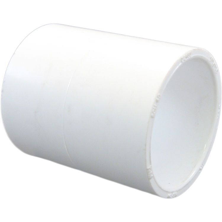 Commodity  PVCCUP112 Schedule 40 PVC Coupling, 1-1/2 Inch
