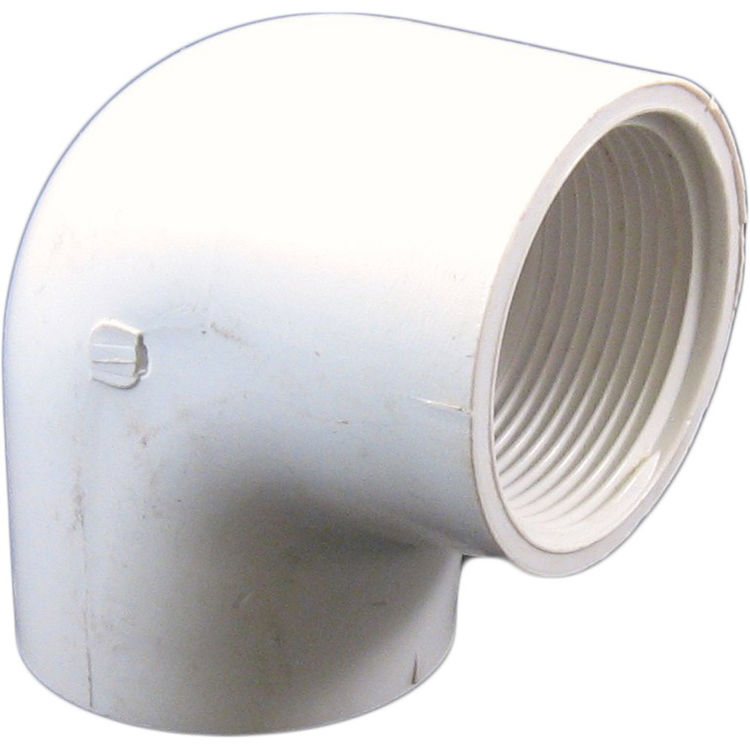 Commodity  Schedule 40 PVC 90 Degree 1-1/2 Inch Elbow