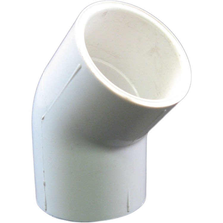 Commodity  PVCL45114 Schedule 40 PVC 45 Degree Elbow, 1-1/4 Inch