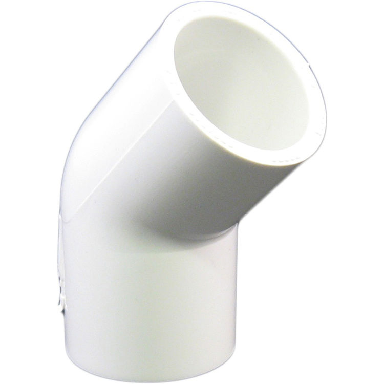 Commodity  PVCL4534 Schedule 40 PVC 45 Degree Elbow, 3/4 Inch