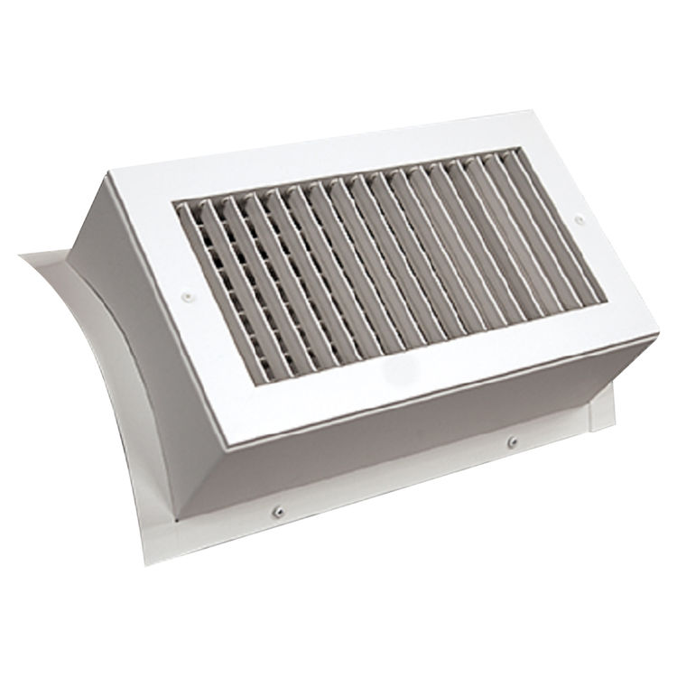 Shoemaker SD34-0-24X10G 24X10 White Vent Cover (Galvanized)-Shoemaker SD34-GALV-0 Series