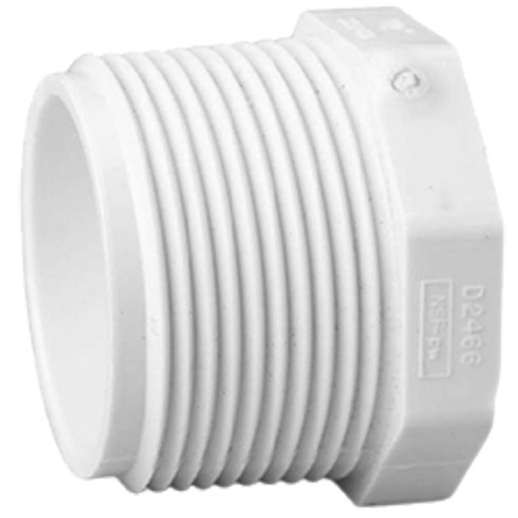 Commodity  Schedule 40 PVC 1-1/4 Inch Threaded Plug