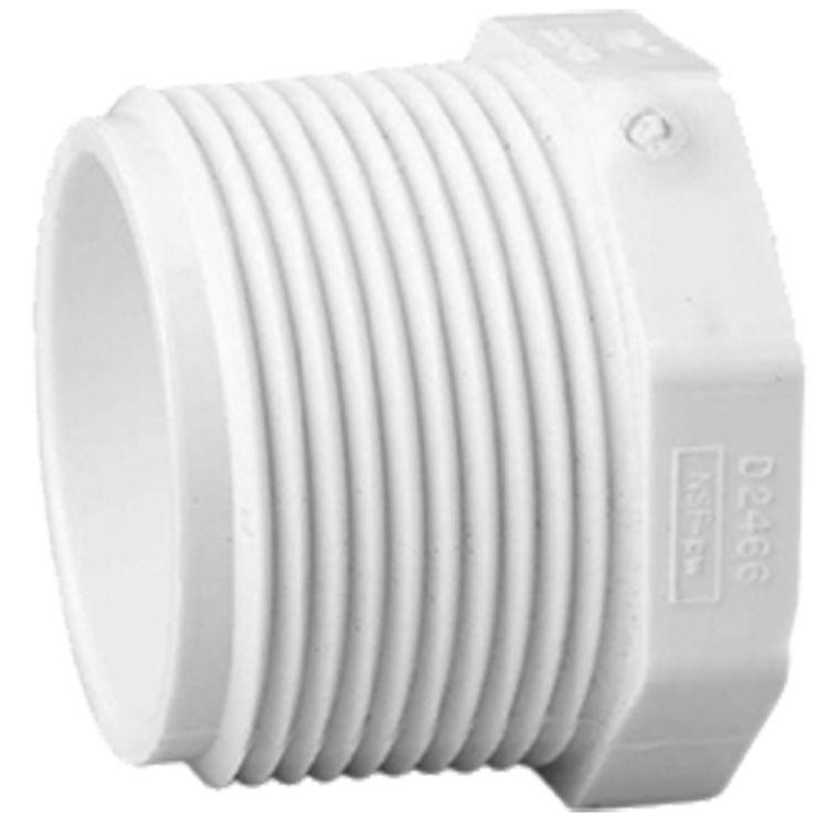 Commodity  Schedule 40 PVC 3/4 Inch Threaded Plug