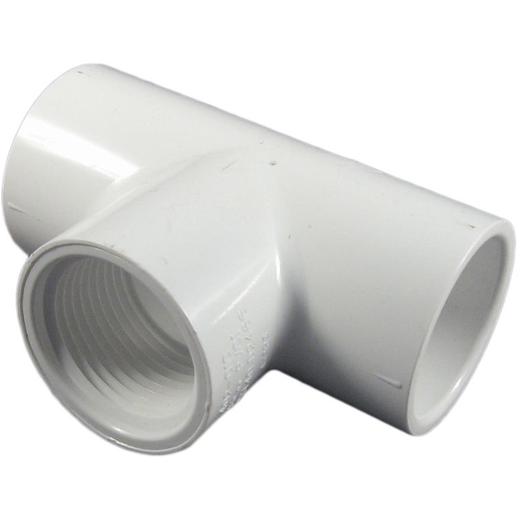 Commodity  PVC Schedule 40 Tee 1 Inch Slip by Thread (SST)