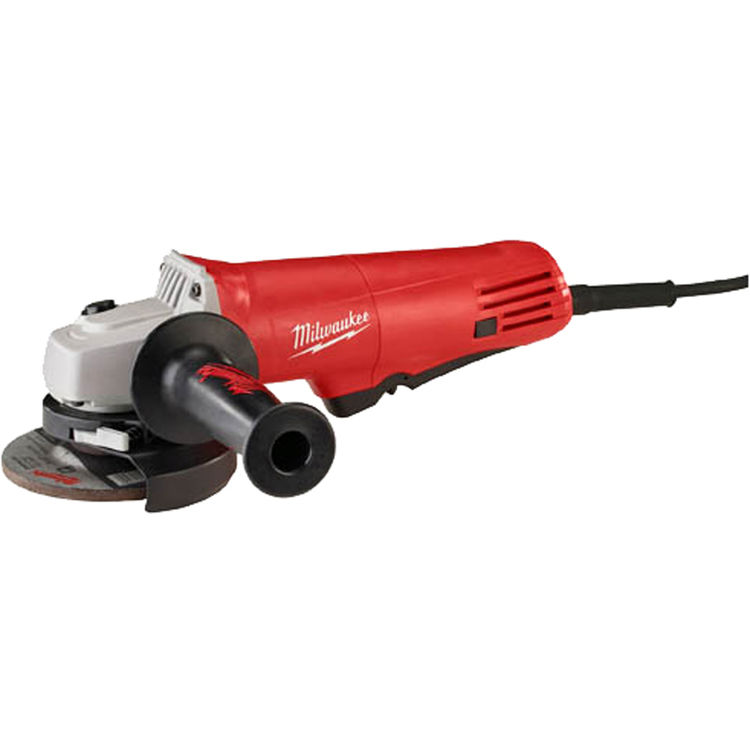 Milwaukee 6140-30 Milwaukee 6140-30 Small Corded Angle Grinder, 120 VAC, 7.5 A, 825 W, 10000 rpm, 4-1/2 in Wheel