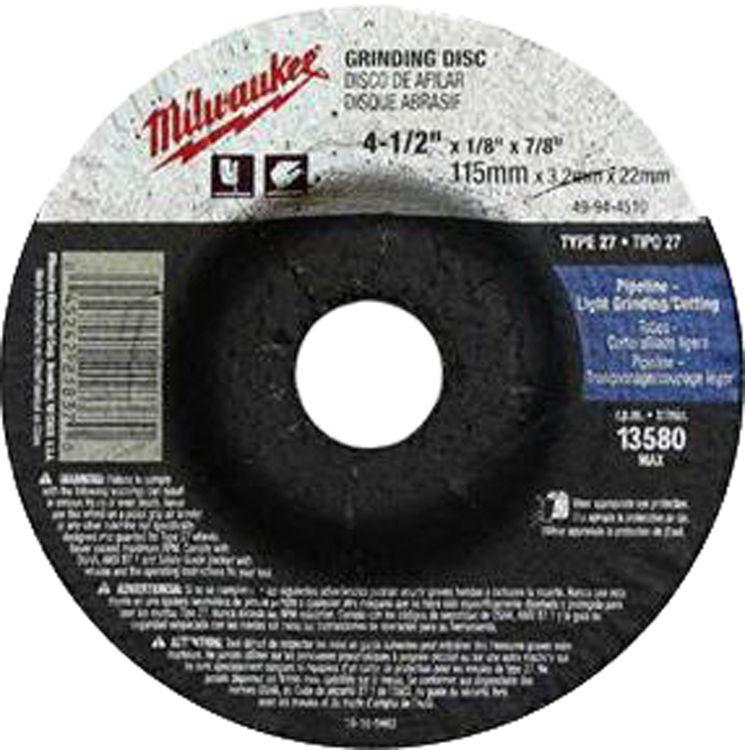 Milwaukee 49-94-9735 9 x 1//4 x 5//8-Inch-11 Type-27 Grinding Wheel