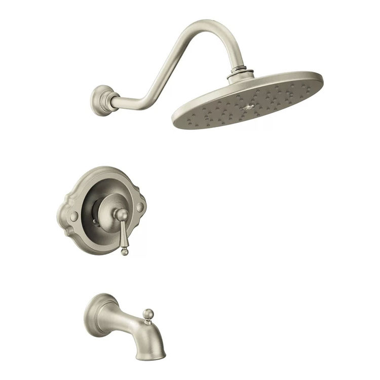 Moen TS314BN Moen TS314BN Waterhill Posi-Temp Tub/Shower Trim, Brushed Nickel