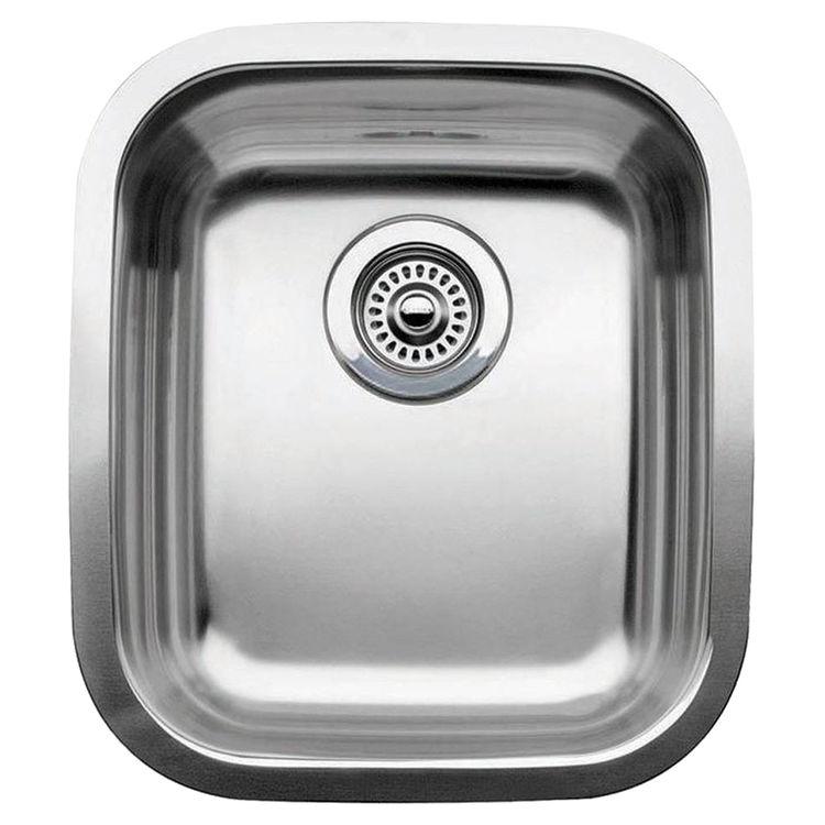 Blanco 440247 Blanco 440247 Supreme Stainless Steel 3/4 Bowl Undermount Sink