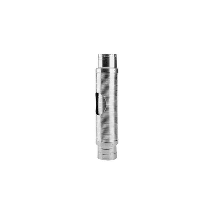 Metal-Fab MDWF0602 Metal-Fab MDWF0602 B-Flex Double-Wall Flexible Type B Vent Pipe Length - 6 Inch Diameter x 2 Foot