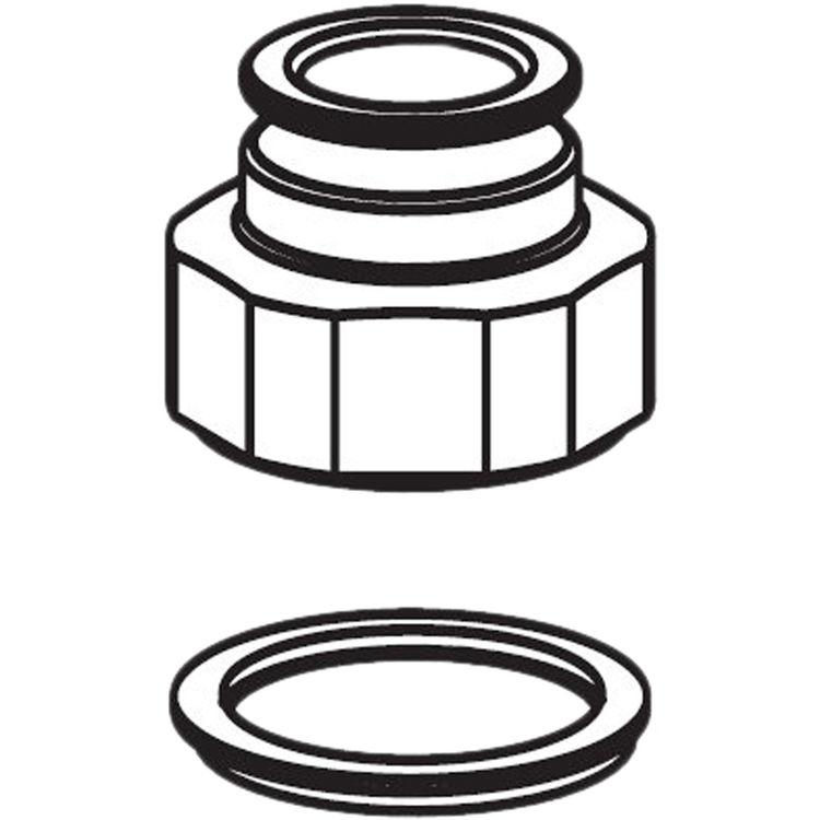 Moen 93960 Moen 93960 Part Value Retainer Pvt Nut Single Handle