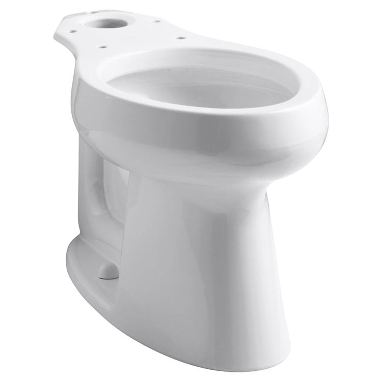Kohler 4199-0 Kohler K-4199-0 White Highline Comfort Height Elongated Toilet Bowl