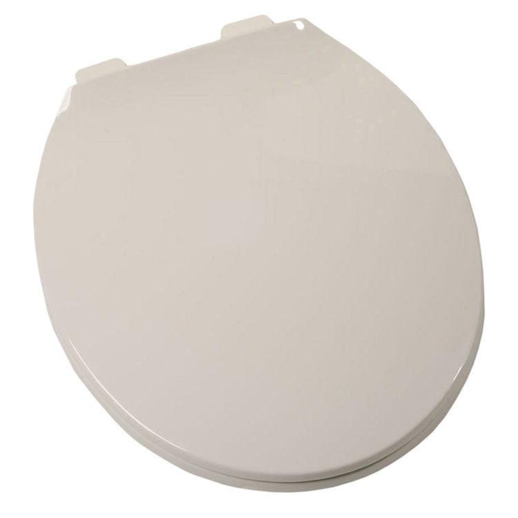 Jones Stephens C104120 Jones Stephens COMFORT Closed Front With Cover Round Plastic Toilet Seat
