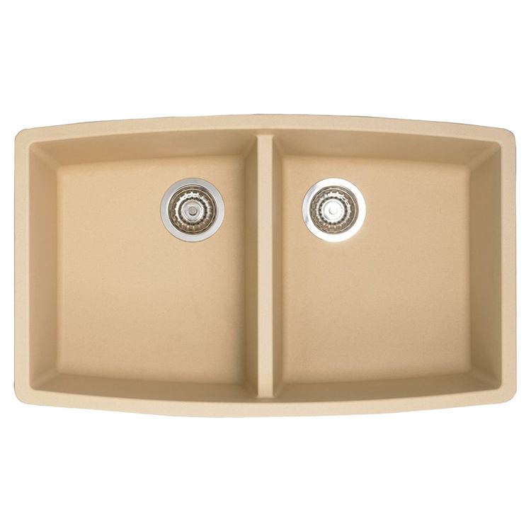 Blanco 441226 Blanco 441226 Performa Biscotti Equal Double Bowl Undermount Sink