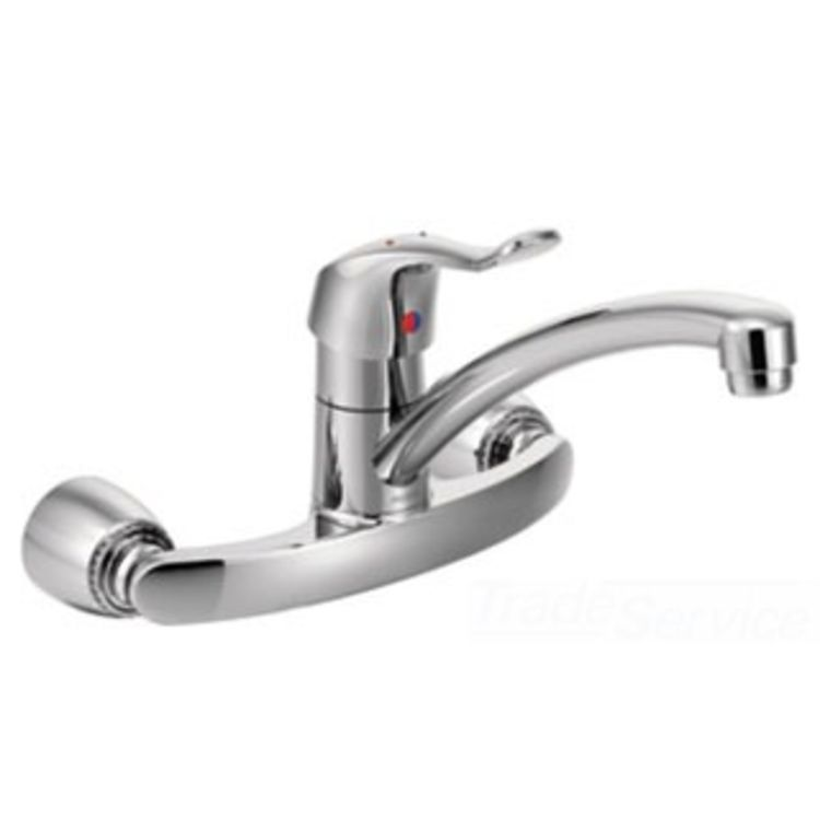 Moen Commercial Single Handle Kitchen Faucet PlumbersStock - Moen commercial bathroom faucets