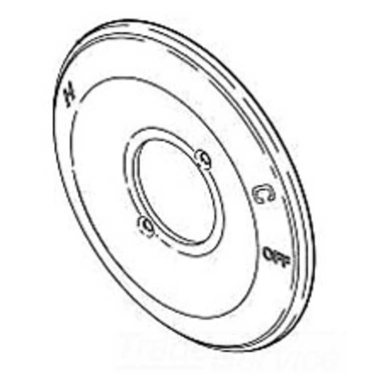 Delta RP38451 Delta RP38451 Delta Escutcheon - 14 Series (Chrome)