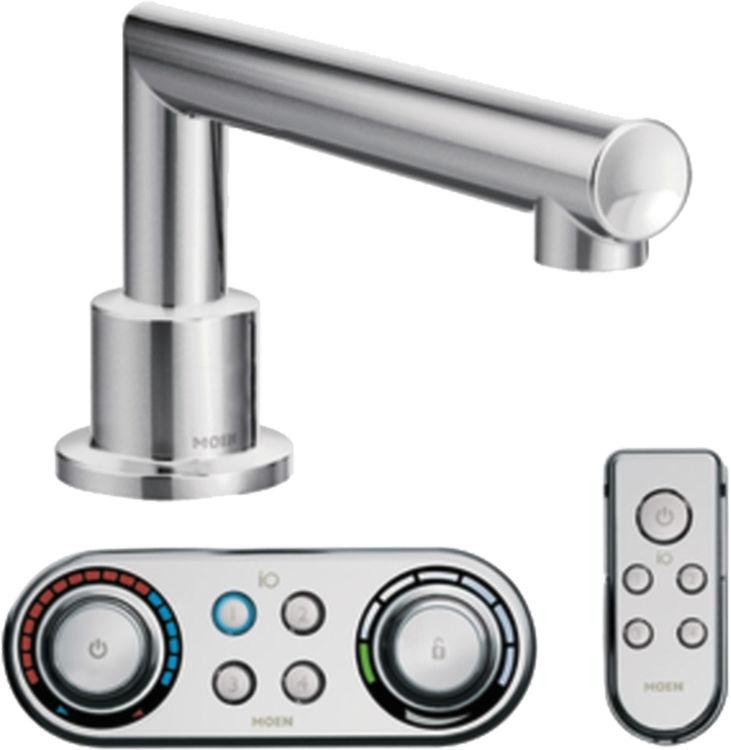 Moen TS92003 Moen TS92003 ioDigital Arris Roman Tub Faucet Trim, Chrome