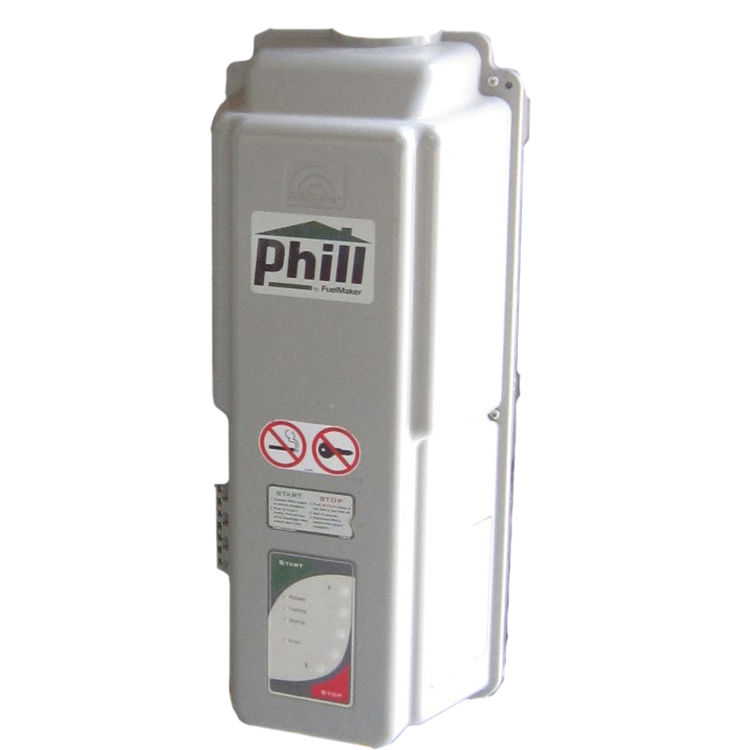 Fuelmaker Phill HRA-P36 CNG Home Refueling Appliance with Mounting Brackets