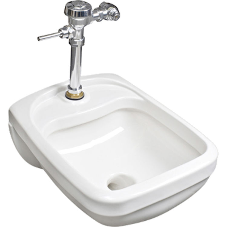 Mansfield 3072-WHT Mansfield Medajean Medical Blowout Sink Model 3072-WHT