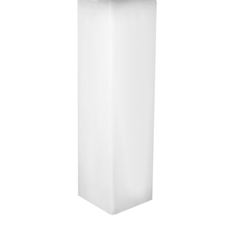 Mansfield 436-WHT Mansfield 436-WHT White Potenza Pedestal Only for Lavatory