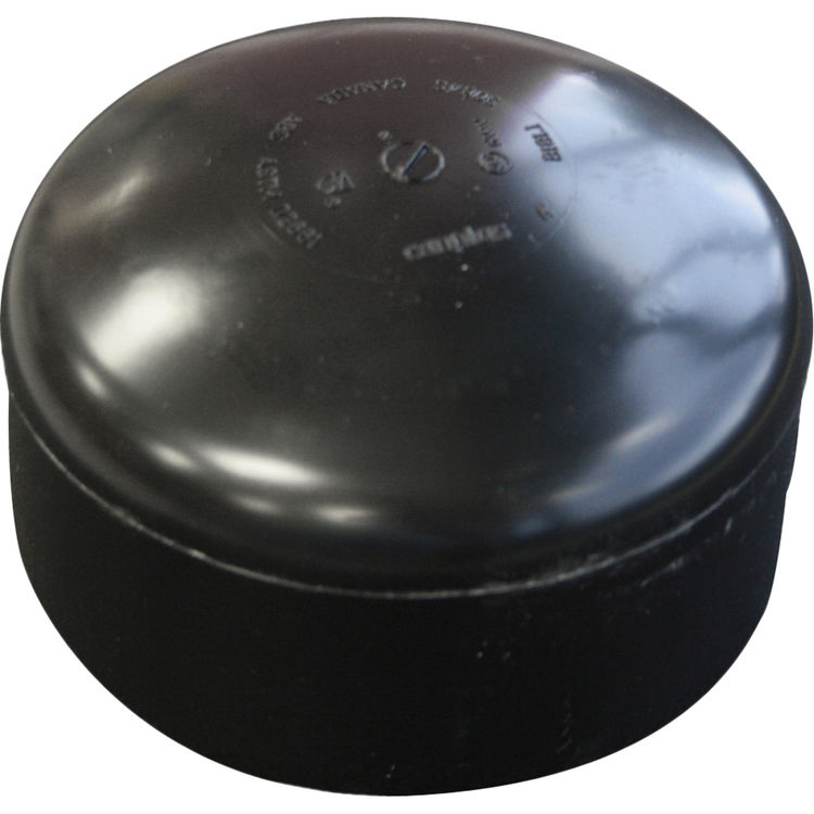 Commodity  1-1/2 Inch ABS Slip Cap, ABS Construction