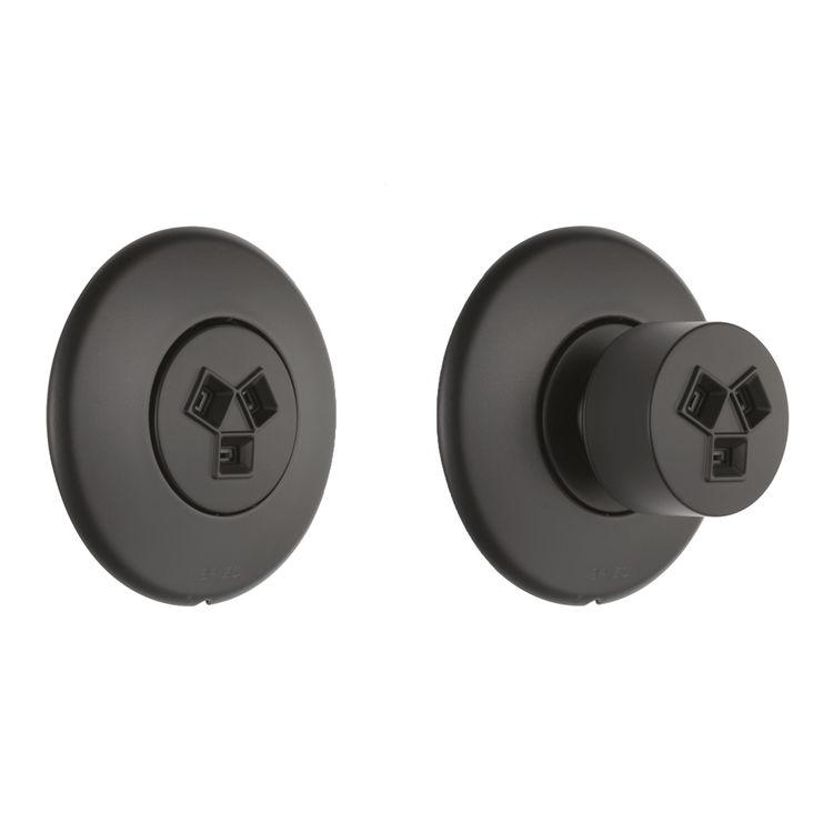 Brizo SH84102-BL Brizo SH84102-BL Matte Black Invigorating HydraChoice Round Body Spray Sprayhead
