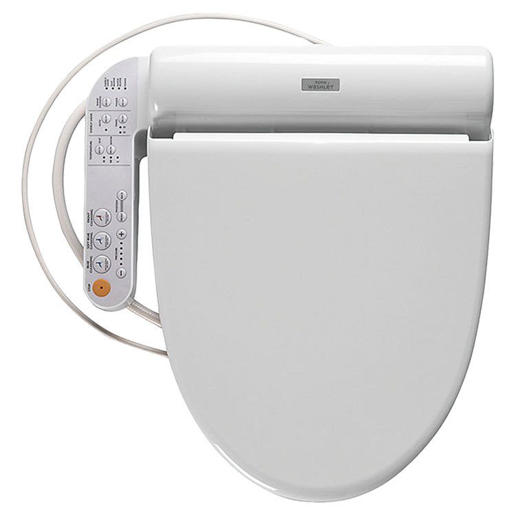 View 2 of Toto SN982MR#01 Toto Neorest 550H Washlet Seat Only, Cotton White - SN982MR#01