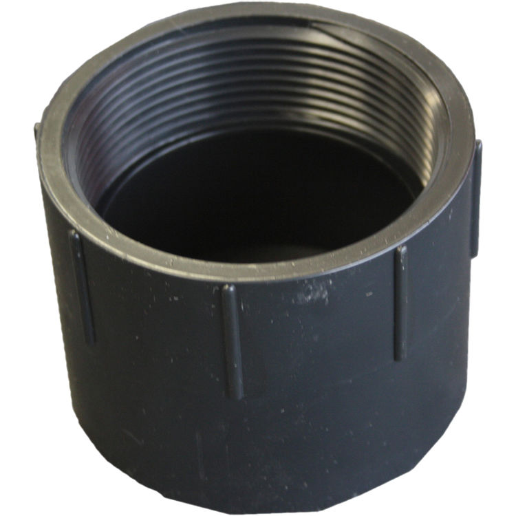 Commodity  1-1/2 Inch ABS Female Adapter, ABS Construction