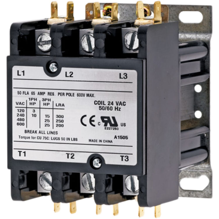 Partners Choice 01-0125 Partners Choice 01-0125 Universal Definite Purpose Contactor, 30A, 3P, 120V