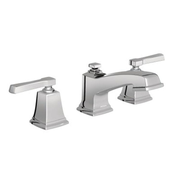 Moen T6220 Moen T6220 Boardwalk Two Handle Widespread Lavatory Faucet, Chrome