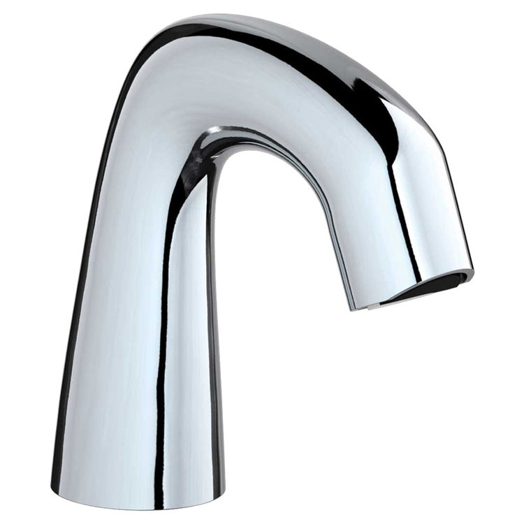 View 2 of Chicago Faucet EQ-A11A-13ABCP Chicago Faucets EQ-A11A-13ABCP EQ Chrome EQ Curved Series Lavatory Sink Faucet with Hands-free Infrared Detection