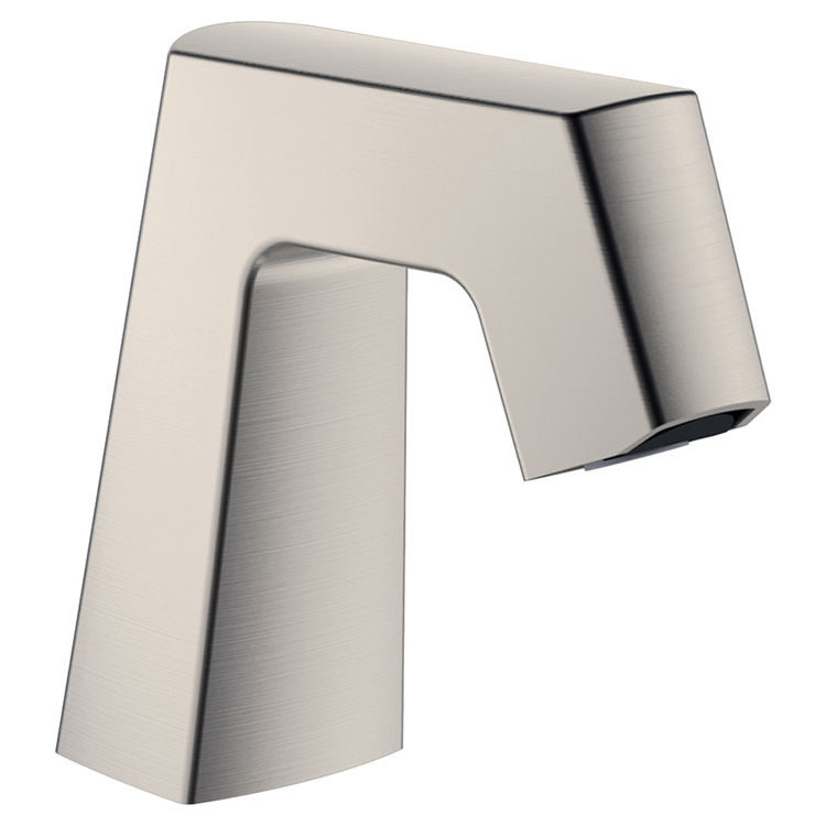 Chicago Faucet EQ-B11B-KJKABBN Chicago Faucets EQ-B11B-KJKABBN EQ BRUSHED NICKEL 243.146.AB.1 1.0 GPM (3.8 L/min) Aerated Cache Outlet EQ Angular Electronic Integral Spout Assembly