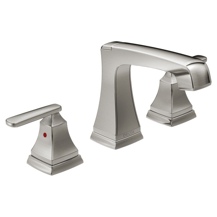 View 2 of Delta 3564-SSMPU-DST Delta 3564-SSMPU-DST Stainless Ashlyn Two Handle Widespread Lavatory Faucet