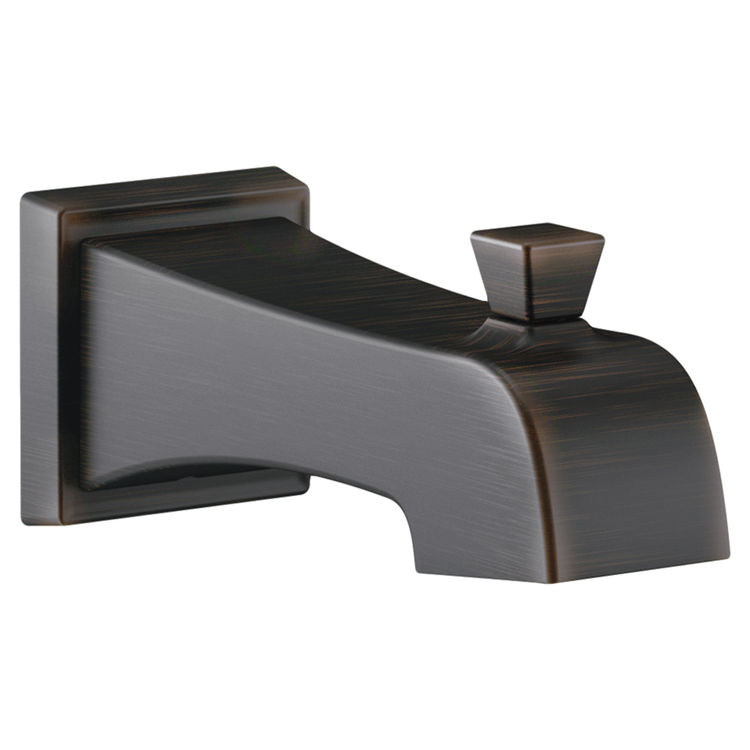 Delta RP77091RB Delta RP77091RB Venetian Bronze Tub Spout with Pull-Up Diverter - Part