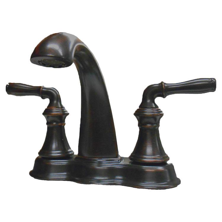 Kohler 393-N4-BRZ Kohler K-393-N4-2BZ Oil Rubbed Bronze Devonshire Centerset Lavatory Faucet