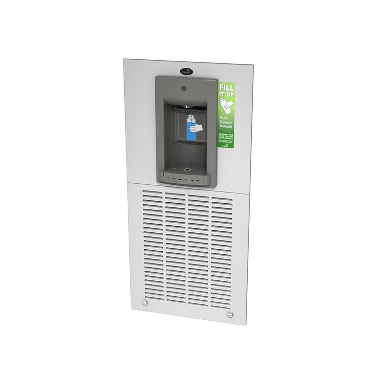 Oasis MW8EBF AquaPointe Electronic Bottle Filler - 8 GPH, Hands Free, Stainless