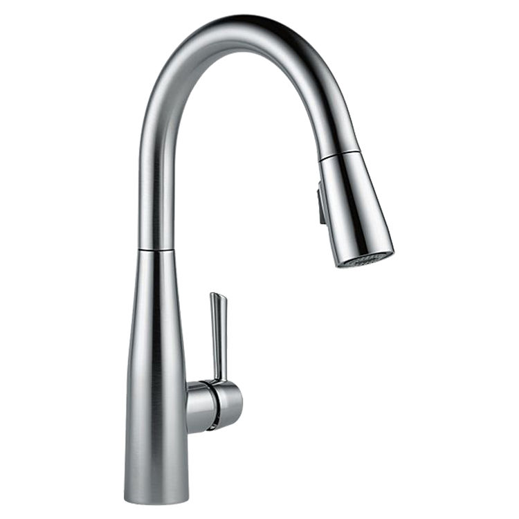 View 2 of Delta 9113-AR-DST Delta 9113-AR-DST Arctic Stainless Single Handle Pulldown Kitchen Faucet