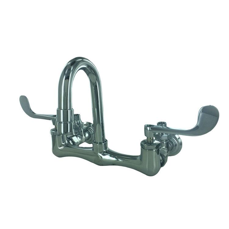 Kohler 7308-5A-CP Kohler K-7308-5A-CP Triton Sink Faucet/G-Neck/Wrist - Polished Chrome
