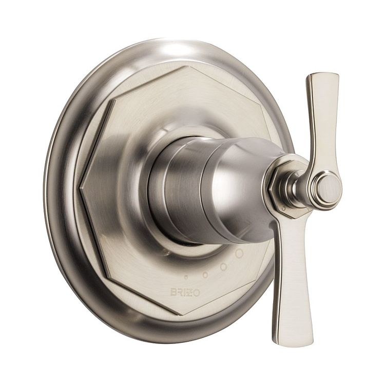 Brizo T60061-NK Brizo T60061-NK Luxe Nickel Rook Thermostatic Valve Only Trim