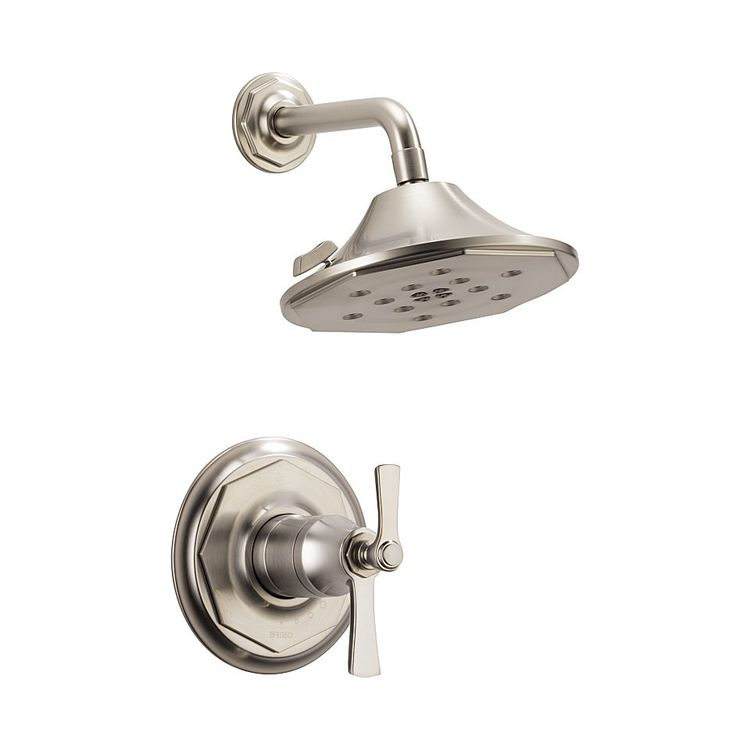 View 2 of Brizo T60261-NK Brizo T60261-NK Luxe Nickel Rook Thermostatic Shower Only Trim