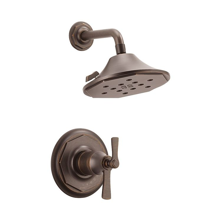 Brizo T60261-RB Brizo T60261-RB Venetian Bronze Rook Thermostatic Shower Only Trim