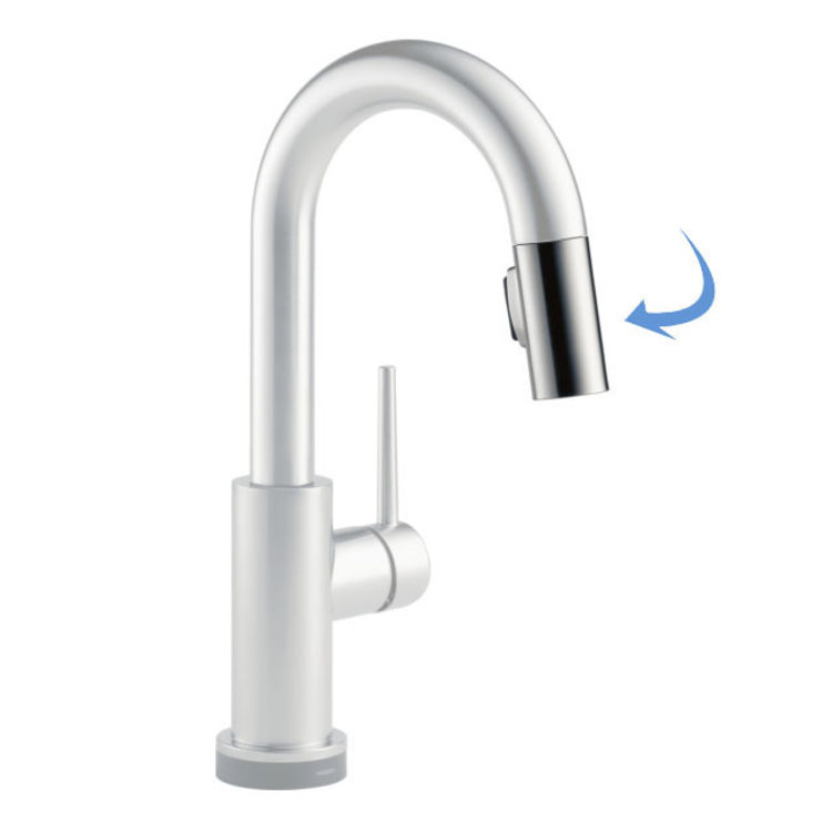 View 2 of Delta RP64069SS Delta RP64069SS Wand Assembly for Pulldown Kitchen/Bar Faucet, Stainless